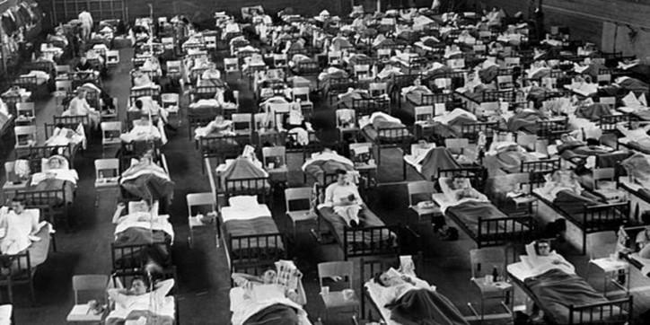 Asian Flu † 1.1 Million