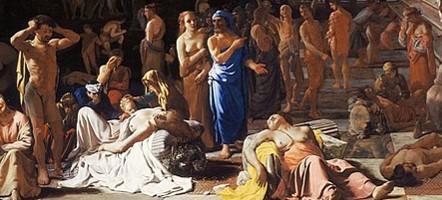 Plague of Athens † 75 – 100 000