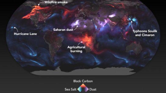 Mapping Aerosols (2018)