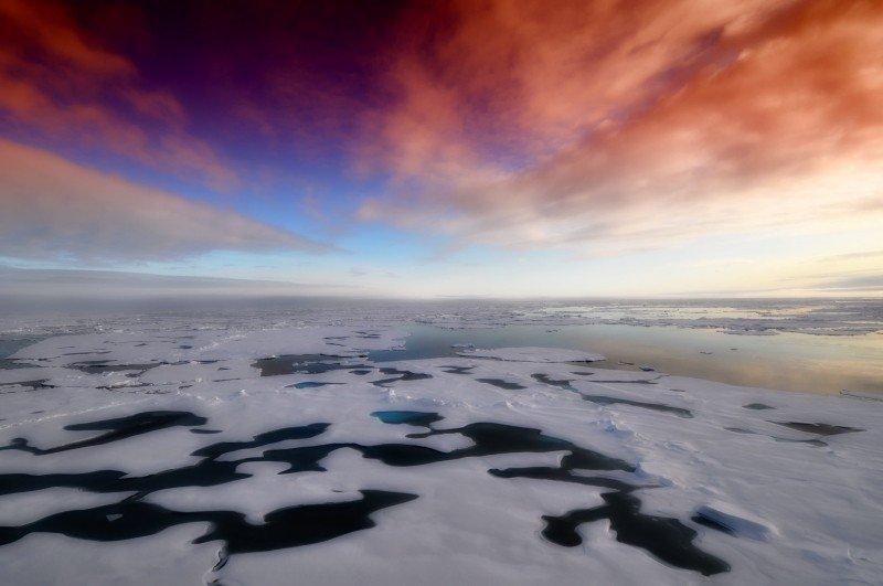 covid-19 arctic ice melt