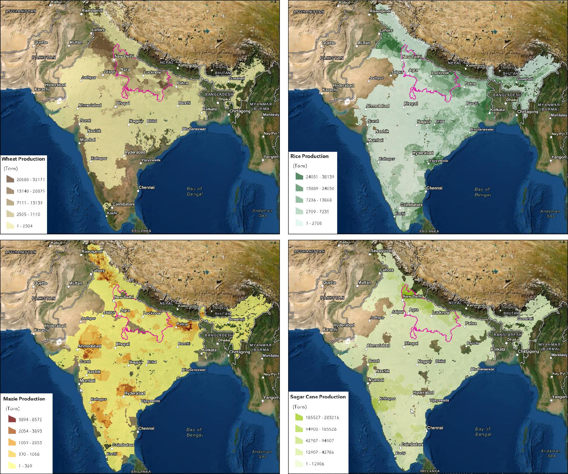 agriculture uttar pradesh crops summer extreme temperatures