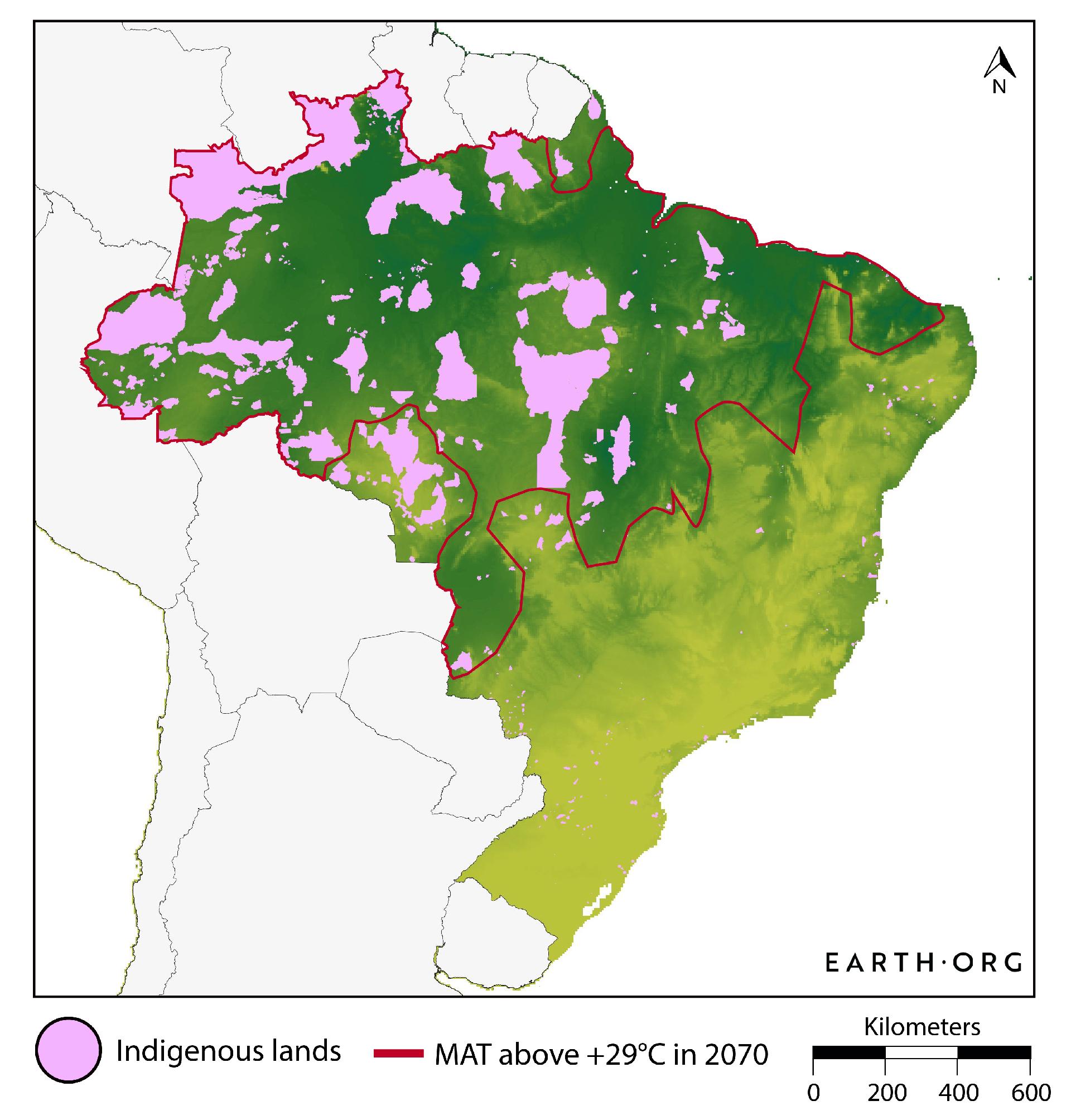 brazil extreme heat indigenous tribes