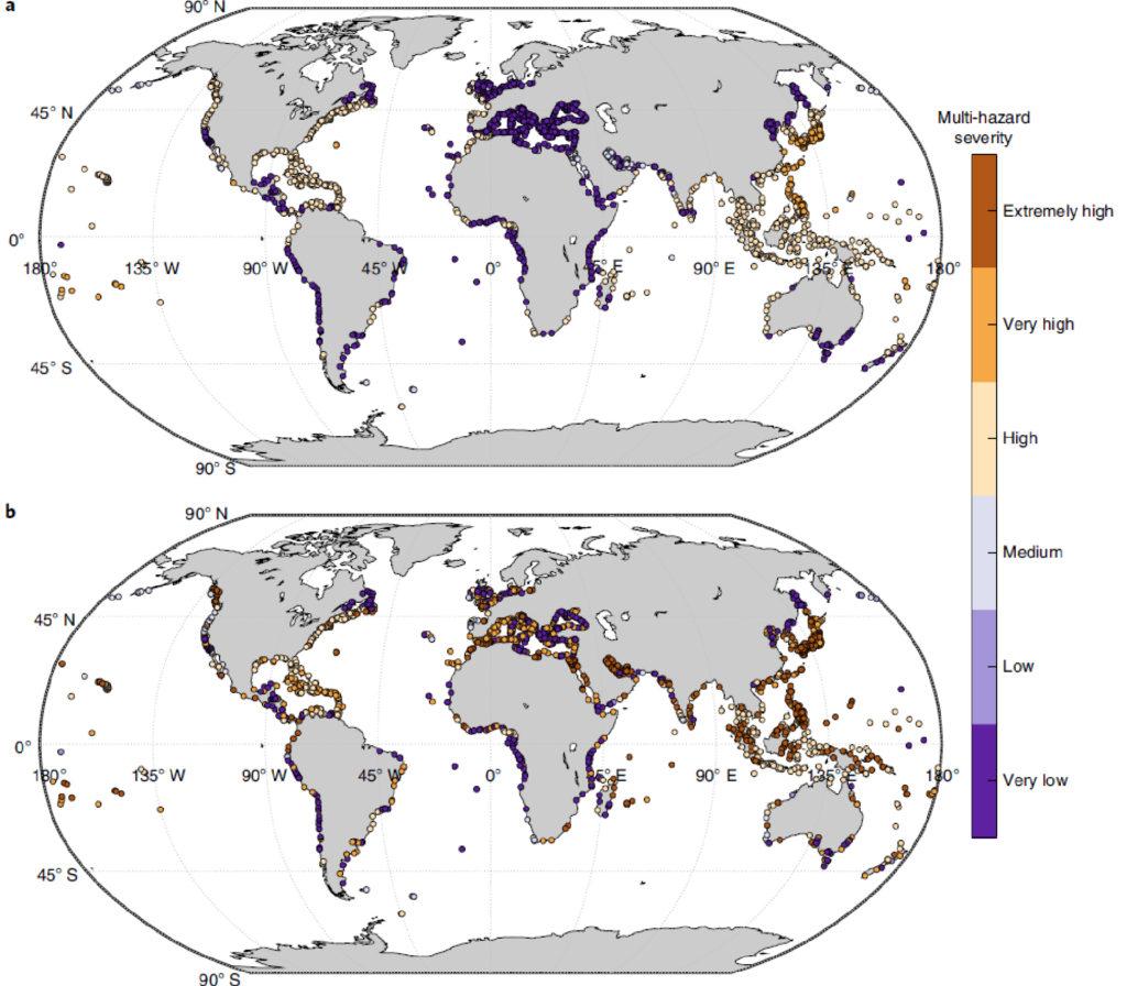 climate change ports risk