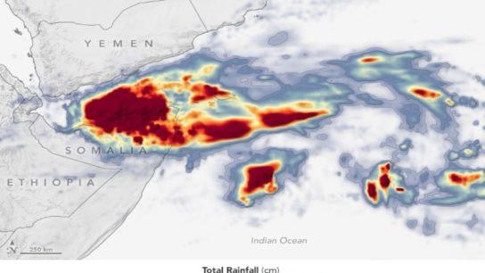 Cyclone Gati Hits Somalia