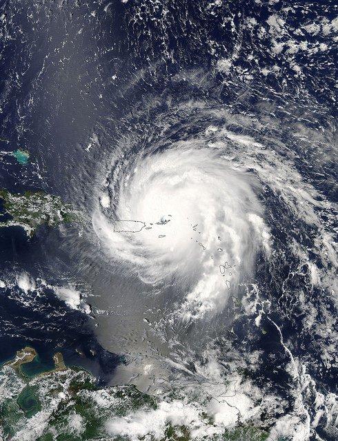 satellite image hurricane NASA