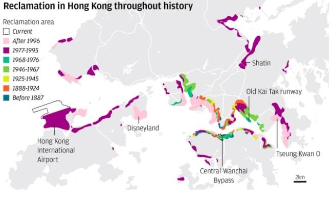 land reclamation hong kong