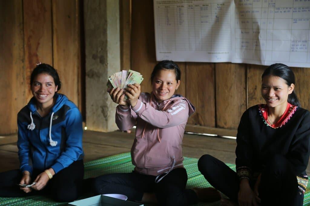 microfinance programme in vietnam, Giang Vu, VLSA